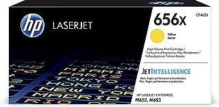 HP 656X   CF462X   Toner Cartridge   Yellow   High Yield