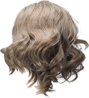 SW EP Halloween Cosplay Luke Short Brown Curly Wig TLJ Hair Accessories Movie Costume Props