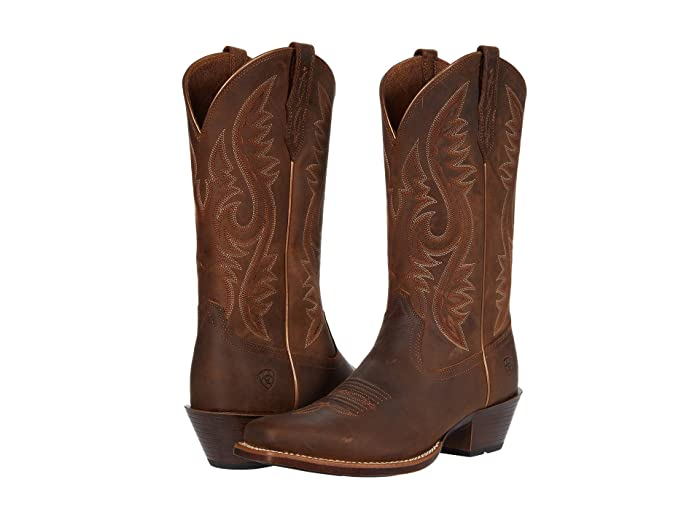 Ariat  Sundown (Distressed Tan) Womens Pull-on Boots
