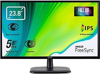 "Acer EK240YAbi - Monitor de 23.8"" FullHD (60cm, IPS LED 250nits, tiempo de respuesta 5ms, VGA, HDMI, Ecodisplay) - Color N..."