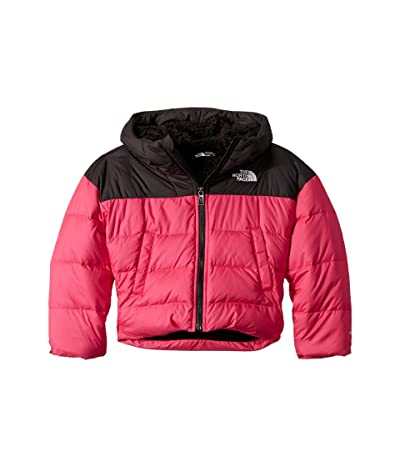 The North Face Kids Moondoggy Down Jacket (Little Kids/Big Kids) (Mr. Pink) Girl