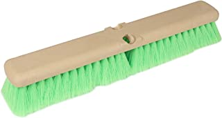 Teravan Green Obround Flow Thru Brush with Very Soft Fiber for Washing Cars, RVs, Trucks and Boats (18 Inch)