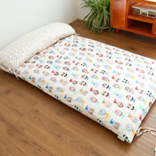 Thicken Sleeping Mattress Pad,Foldable Tatami Floor Mat,Traditional Futon Cushion,Non-Slip Bed Mattress Topper Folding Single Thicken Floor Mats for Dormitory-A 67x120cm(26x47inch)