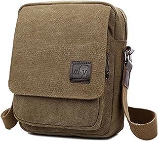 MeCool Umhängetasche Herren Canvas Schultertasche Vintage Messenger Bag für männer Reisetasche Sport Segeltuch schultaschen Strandtasche Herrentaschen Reisetaschen sporttasche weekender freitag Tasche
