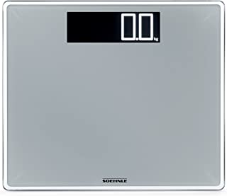 Soehnle 63864 Style Sense Comfort Digital Bathroom Scale | Silver
