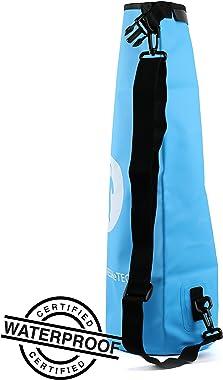Waterproof Dry Bag - FRESHeBAG - Perfect for The Beach, Kayaking, Paddle Boarding, Hiking, Fishing, Camping, Boating and Rafting