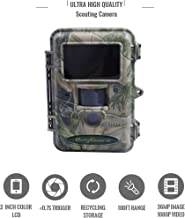 Boly Ultra High Image Resolution Hunting Camera Invisible IR Trail Camera 36MP 1080p HD Video, Adjustable Sensor up to 100ft. Detection, Trigger time Less Than 1s Hunting Cam.