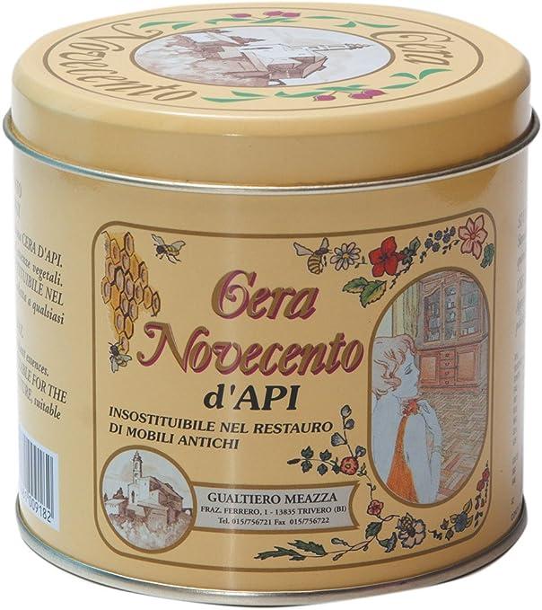 Cera Novecento y921 Cera de abejas, Nogal Medio, 500 ml