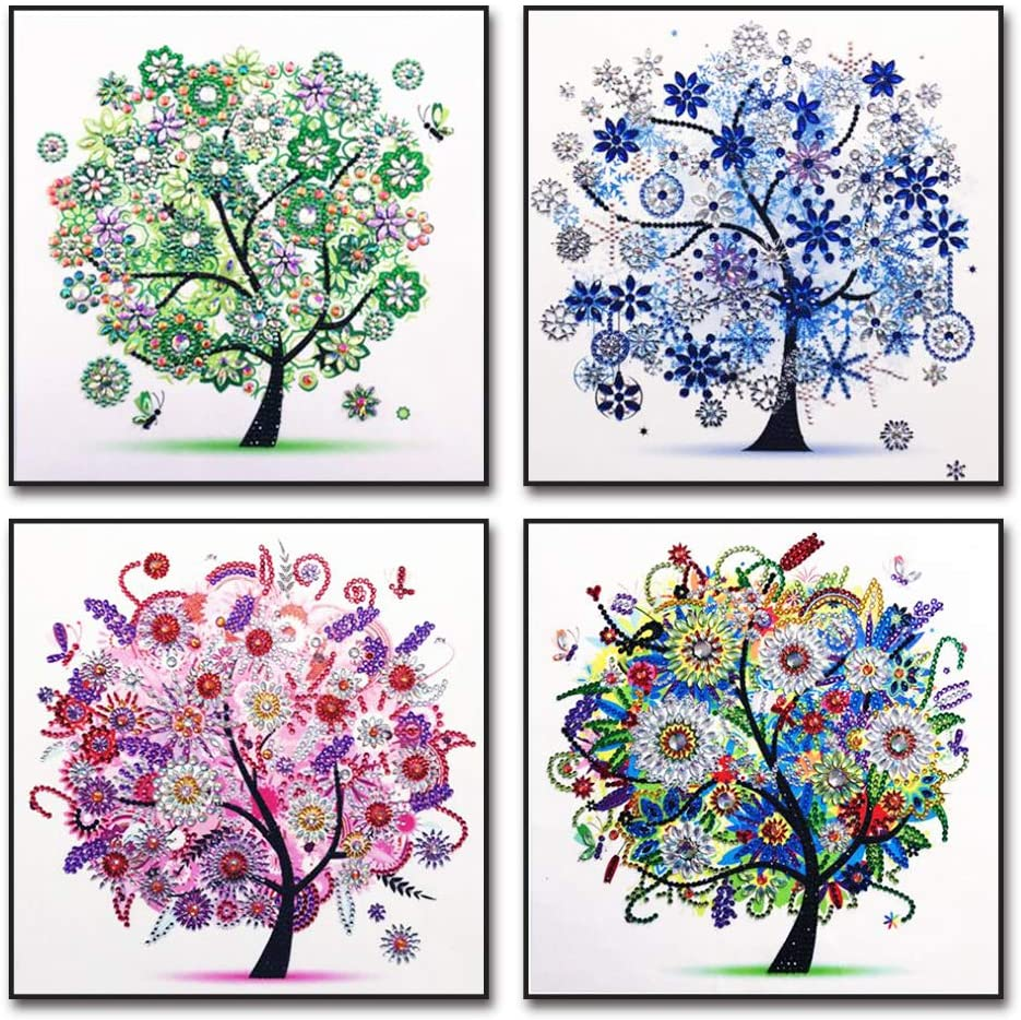 11.8 x 11.8 Inch Diamond Painting Kits 5D DIY Beautiful Girl Diamond Painting Art for Adults Kids Crafts Drill Diamond for Embroidery Arts Craft Home Wall Decor