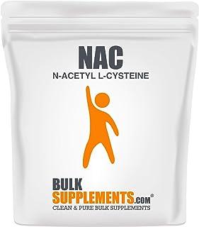 BulkSupplements NAC (N-Acetyl L-Cysteine) Powder (250 Grams)