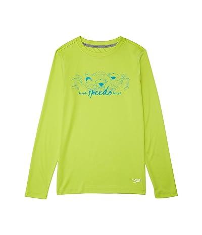Speedo Kids Long Sleeve Graphic Swim Shirt (Little Kids/Big Kids)
