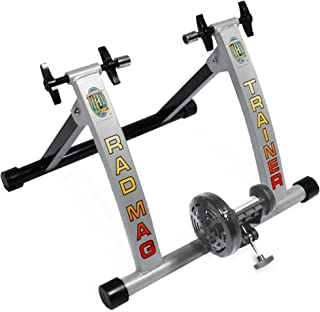 RAD Cycle Bike Trainer Indoor Bicycle Exercise Portable Work Out Cycle with Smooth Magnetic Resistance Allows You to Work Out with Your Bike