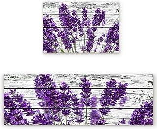 Amazon Com Purple Kitchen Rugs Kitchen Table Linens Home Kitchen