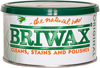 Briwax BR-1-LB Light Brown Furniture Wax, Cleans, Stains, and Polishes