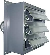 Canarm Wall Exhaust Fan - 10in. 2-Speed, 1/20 HP, 690 CFM, Model Number S10-B2