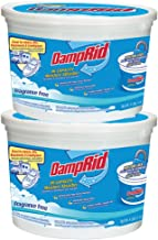 DampRid FG50T HI-Capacity Moisture Absorber, 2-Pack, 4-Pound, 2 Piece