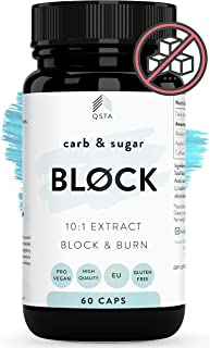Keto Carb & Sugar BLOCK 4000mg (60 DIAS) - Potente