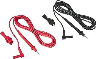 Electronic Specialties 629-10 Cabos de teste de dez pés com clipes jacaré parafusados, 1 pacote