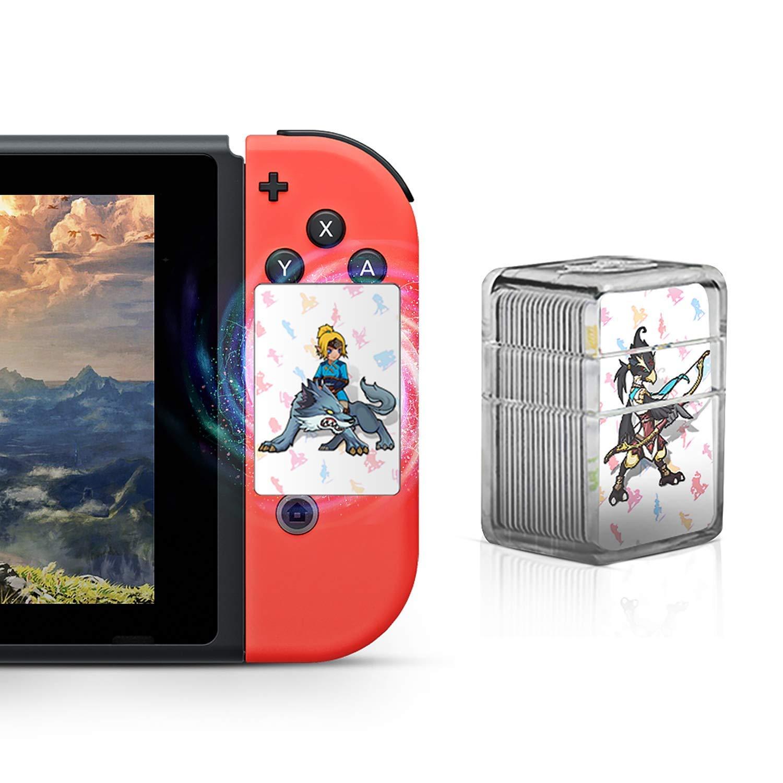 TPLGO 24 pcs NFC Carte per Zelda Breath of The Wild Botw Switch/Wii U: Amazon.es: Electrónica