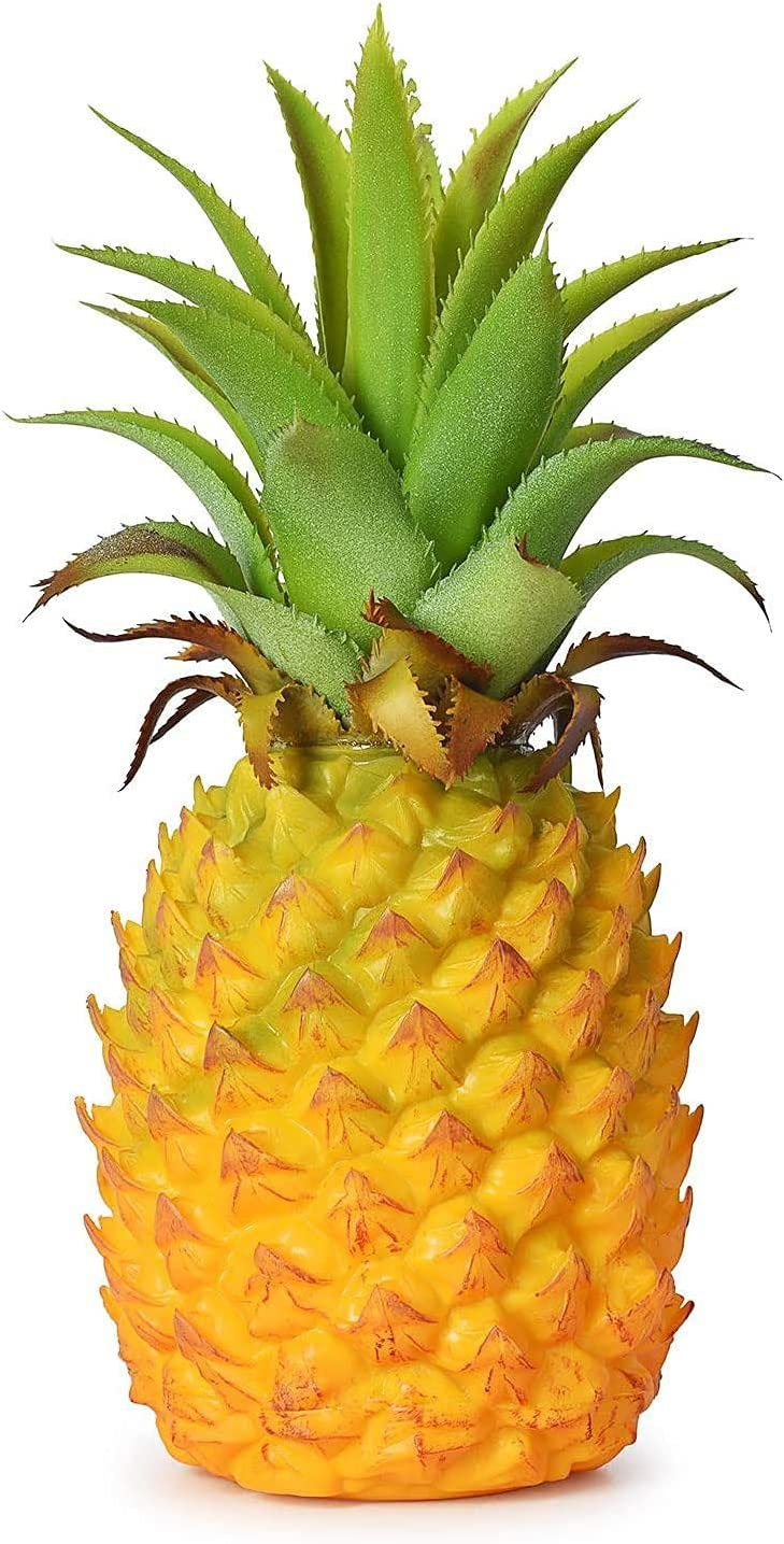 Gorgeous Artificial Pineapple Realistic for Fruit depot H