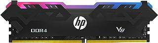 HP V8 RGB 16GB (2 x 8GB) DDR4 3200MHz U-DIMM CL16 Desktop Memory Kit - Black - (8MG02AA#ABB)