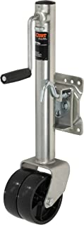 CURT 28156 Marine Boat Trailer Jack with 6-Inch Wheels 1,500 lbs, 10-3/8 Inches Vertical Travel