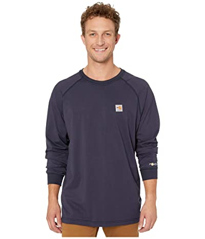 Carhartt Flame-Resistant (FR) Force Long Sleeve T-Shirt (Dark Navy) Men
