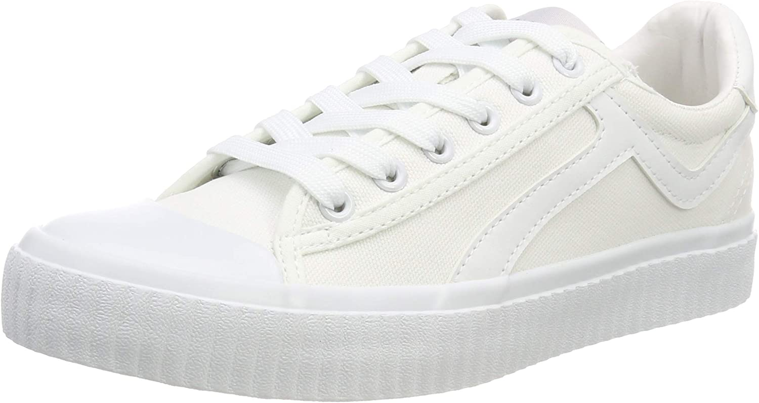 Selected Women's Slferica Canvas Trainer B Low-Top Sneakers