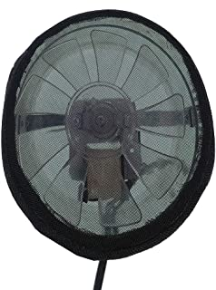 4 Inch Duct Filter Net for in Line Fan and Air Ducting in Hydroponic Grow Tent or Clone Box Closet (for 4 inch Flange)