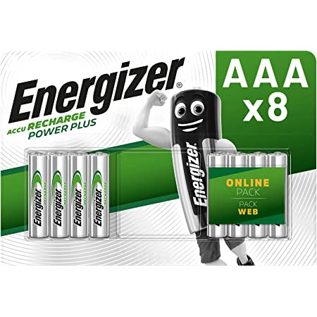 Energizer Aaa Akkus Recharge Power Plus Akku 8 Elektronik