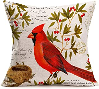 stamp cushion cover