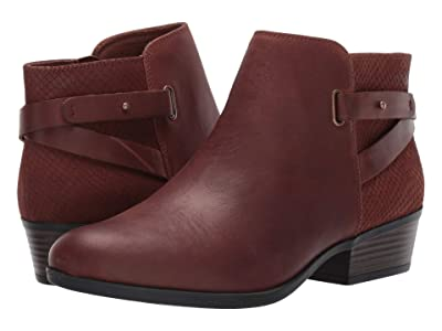 Clarks Addiy Gladys (Dark Tan Leather) Women
