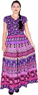 Sttoffa Long Dress Womens Dress Rajasthani Kurti D3