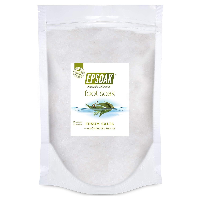Tea Sale item Tree Oil Foot Soak with Epsoak Free shipping on posting reviews Bag Salt Epsom - 19 Bulk lb.