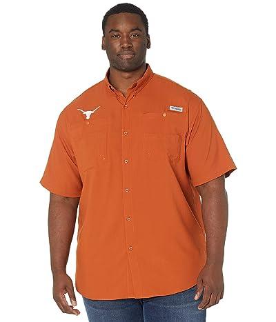 Columbia College Big Tall Texas Longhorns Tamiami Short Sleeve Shirt