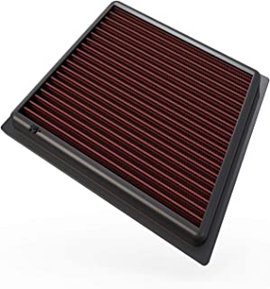 K&N Engine Air Filter: High Performance, Premium, Washable, Replacement Filter: Fits 2008-2019 Ford (Fiesta, Figo, KA Plus, B-Max, EcoSport, Tourneo Courier, Transit Courier, , 33-2955