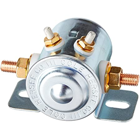Cole Hersee 24214-BX 24V 71 Ω Continuous Duty Solenoid 4 Stud