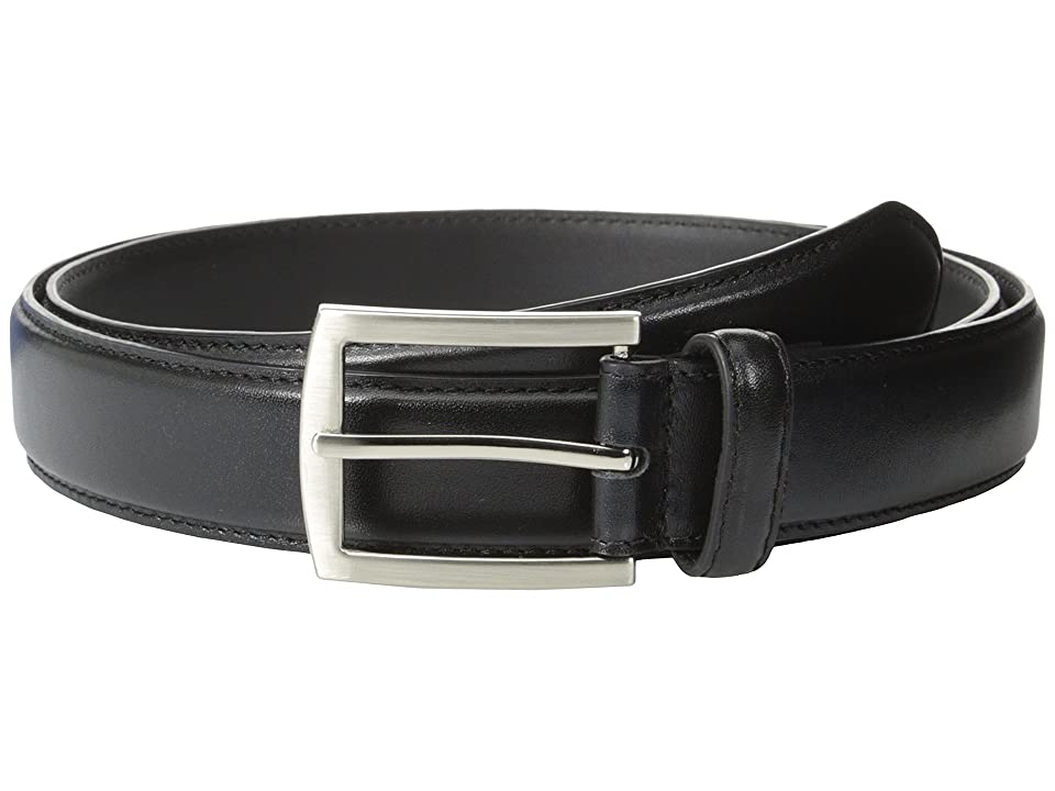 Stacy Adams - Stacy Adams 32mm Full Grain Leather Top w/ Leather Lining Dress Belt