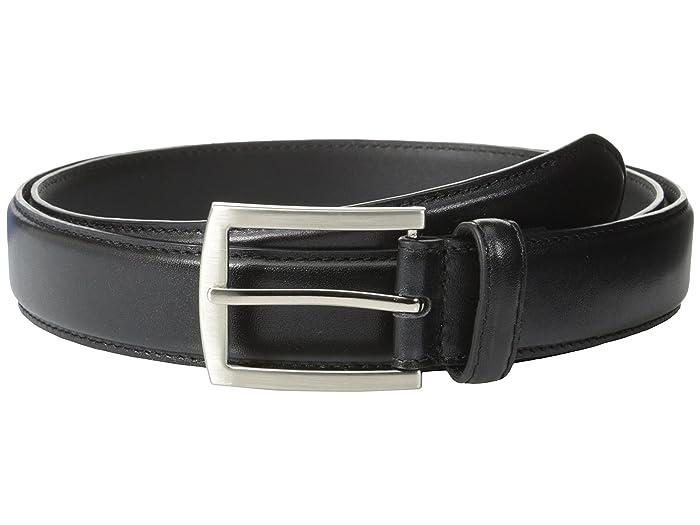 Stacy Adams 32mm Full Grain Leather Top W Leather Lining Dress Belt