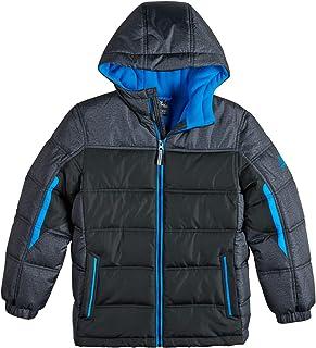 Boys Puffer Jacket, Lightweight Quilted Boys Jacket