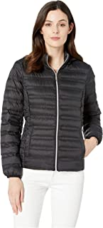 Women's Zip Front Packable with Removable Hood M823964M