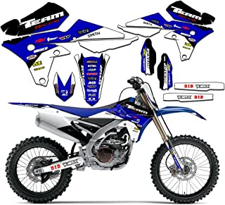 Team Racing Graphics kit compatible with Yamaha 2000-2007 TTR 125, EVOLV