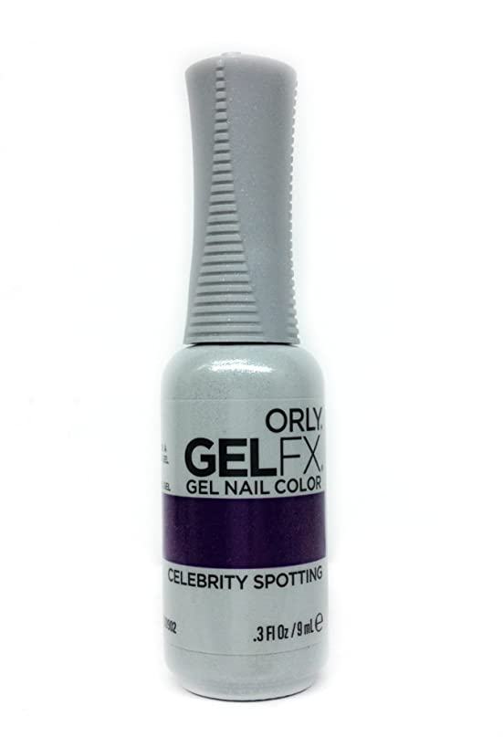 あそこ国民アーネストシャクルトンOrly GelFX Gel Polish - Celebrity Spotting - 0.3oz / 9ml
