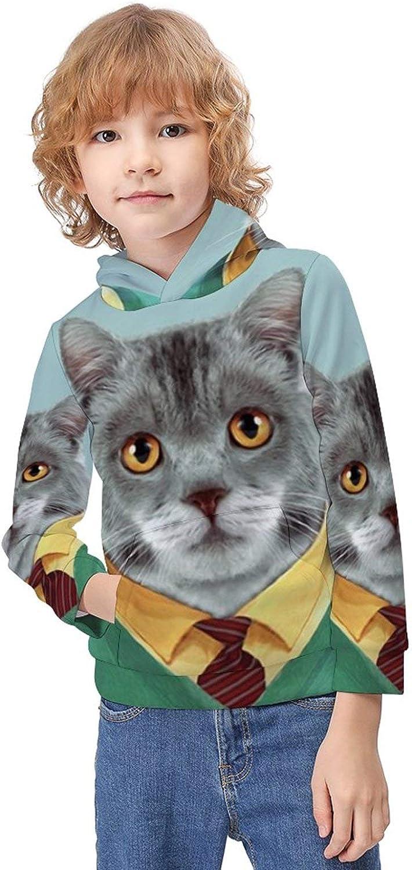 ODOKAY Girls Boys Pullover Hoodies Printed Casual Hoodie and Sweatshirt for Unisex Kids