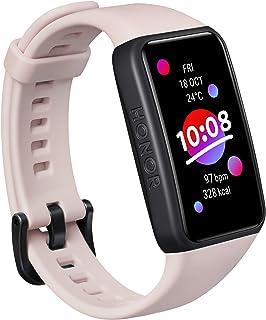 HONOR Band 6 Smart Watch SpO2 en hartslagmeter, smart activity armband met slaapmonitor, trainingstracker, zwart