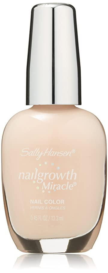 不適見分ける不倫SALLY HANSEN NAIL GROWTH MIRACLE NAIL COLOR #150 BOLD BUFF