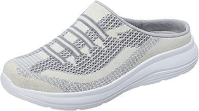 BingThL Chaussons d'été en maille respirante pour femme - Chaussures de jardin - Chaussures de plage - Chaussures aquatiqu...