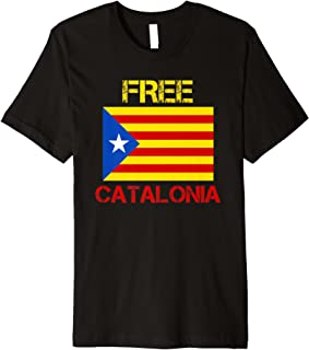 catalonia independence t shirt