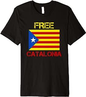 Free Catalonia - Catalan Independence - Premium T-Shirt