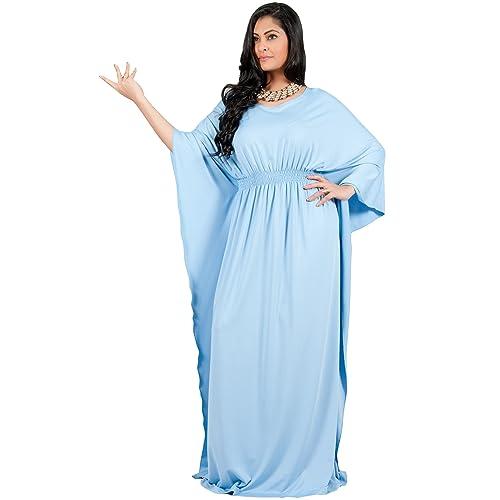 dd42fc37dba Adelyn   Vivian Plus Size Womens Long Sleeve Cocktail Evening Formal Maxi  Dress